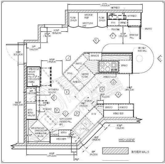 I will create an architectural floor plan