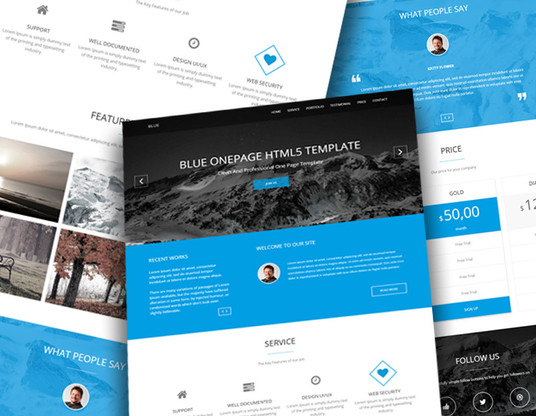 I will Design Landing page or squeeze page website