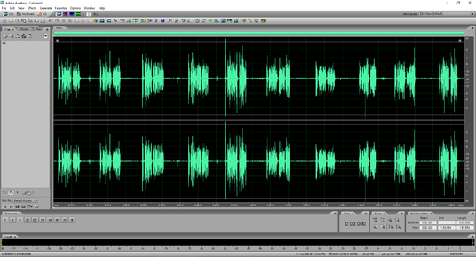 I will edit your audio file up to 5 minutes in length
