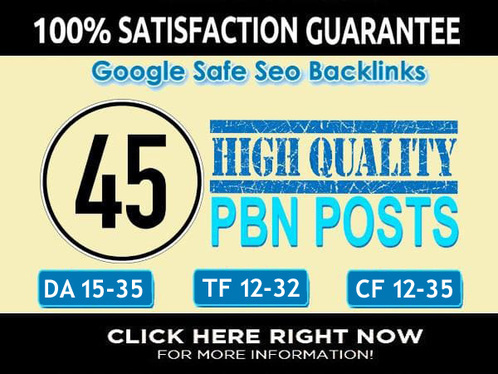 send you permanent 45 pbn backlinks