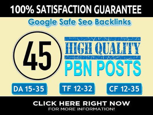 I will send you permanent 45 pbn backlinks