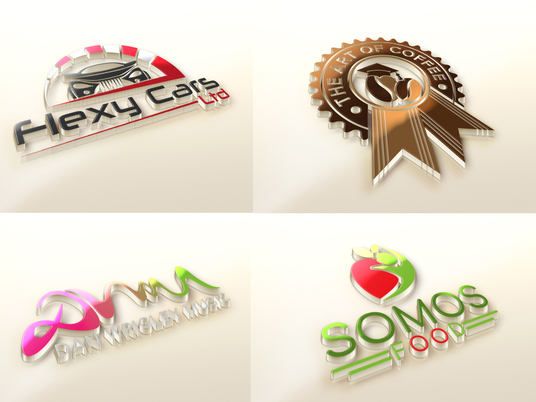 I will High Quality  3D Logo with Unlimited Revisions