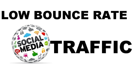 I will send  TARGETED  TRAFFIC with LOW BOUNCE RATE and HIGH DURATION to any  link