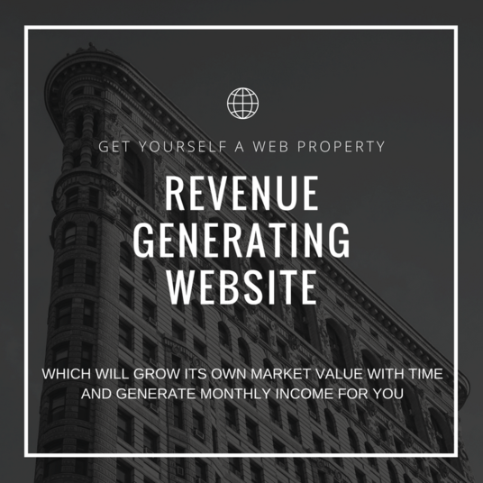 I will Create A Revenue Generating Website For You