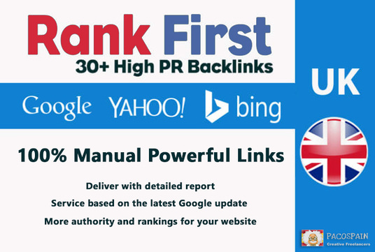manually do high pr UK seo citations backlinks