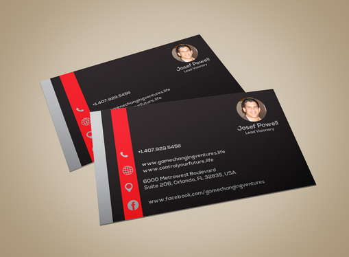 Design eye catching business card for 10 designscorner fivesquid cccccc design eye catching business card colourmoves Images