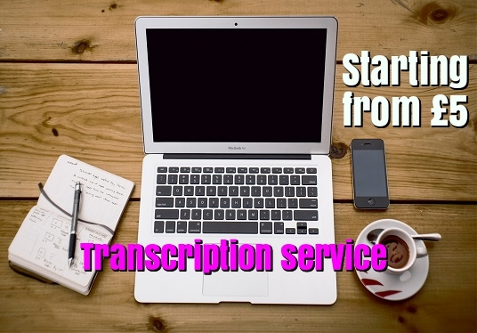 I will do accurate audio and video transcription upto  15 Minutes