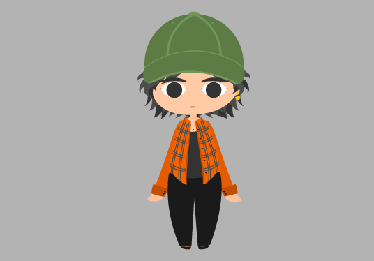 I will vector a chibi version of you or someone else