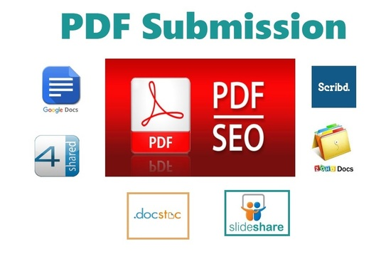 I will submit 10 PDF submissions on document-sharing sites
