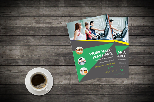 I will design Great looking print ready flyer