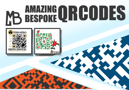 I will create an awesome BESPOKE QR CODE
