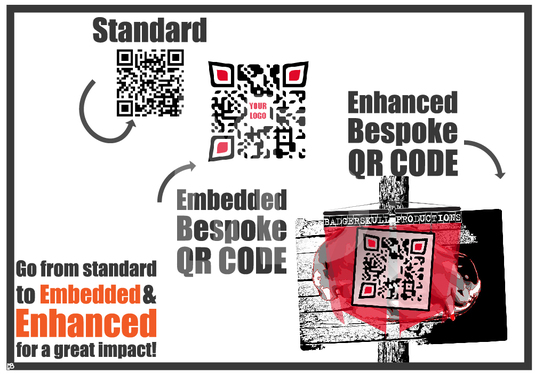 cccccc-create an awesome BESPOKE QR CODE