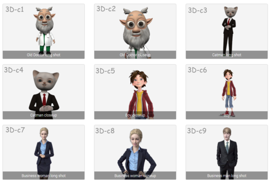 I will create a  3D Website avatar to engage your vistors and boost your sales