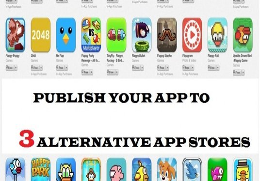I will Publish Your App To Three Alternative App Stores