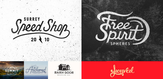 I will design 3 Hand Drawn Logos in 12 hours with FREE SOURCE FILE