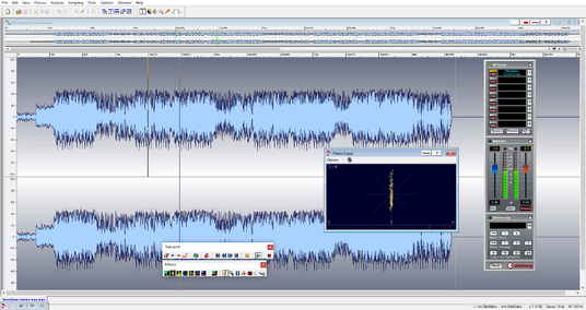 I will master an audio track