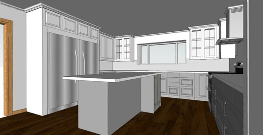 I will sketch up your 3D interior design