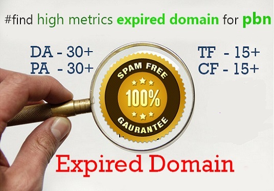 I will find SEO friendly expired domain