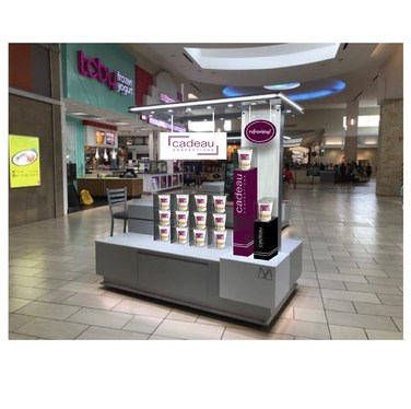 Brand your Kiosk or stand