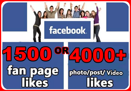 I will add 1500 + permanent Facebook likes