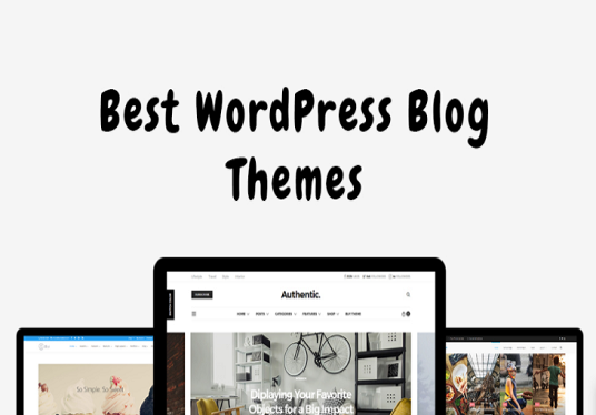 create WordPress blog website