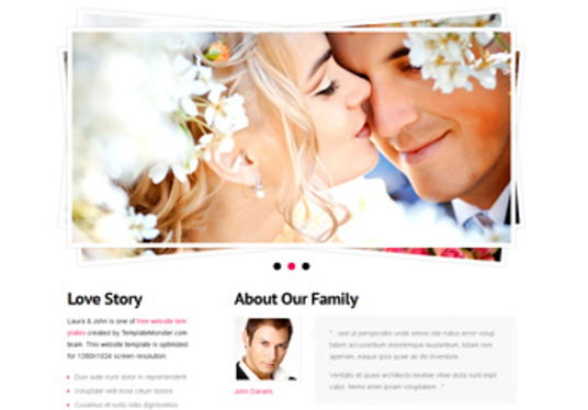 I will customize WordPress wedding website for your business
