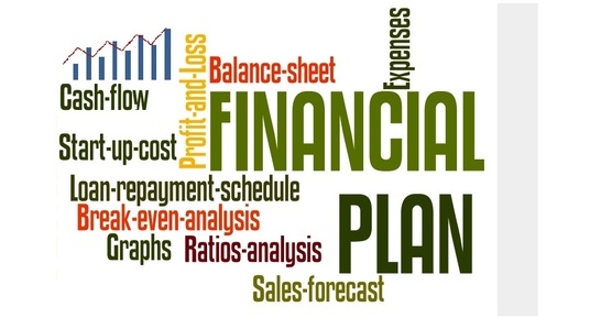 create customisable business financial projections template for 5