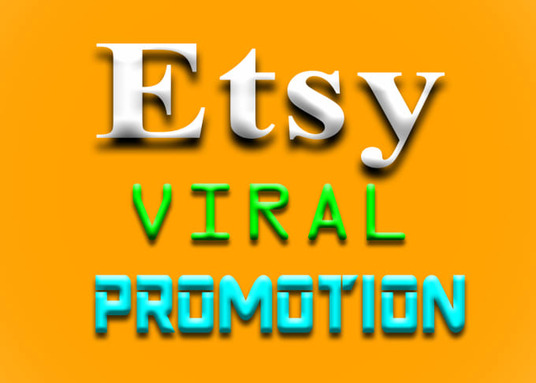 I will boost your Etsy promotion