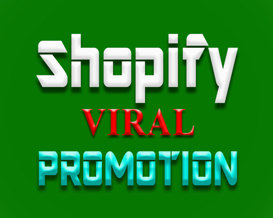 I will do 1 month Shopify store promotion