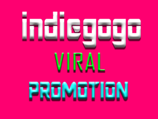 I will do indiegogo crowdfunding promotion