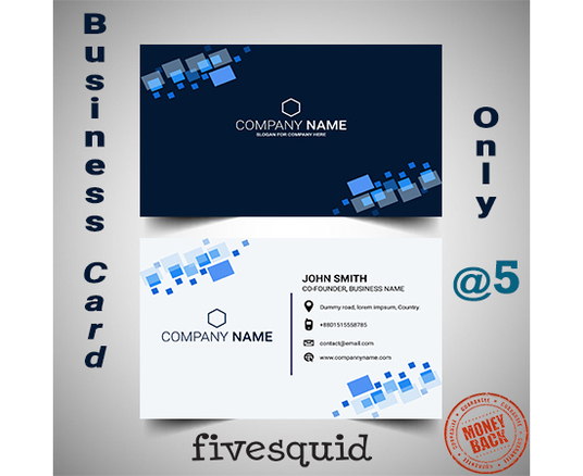 I will Design Simple And Attractive Business Card Within 24 Hours