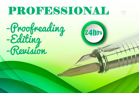 I will offer impeccable proofreading and editing service (up to 5000 words)