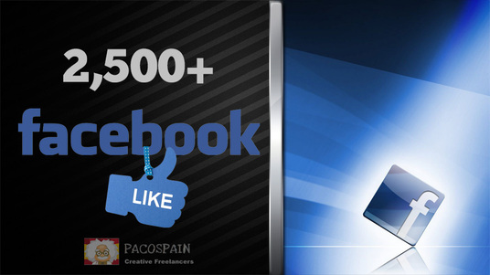 give you 2500+ Real Facebook Page likes