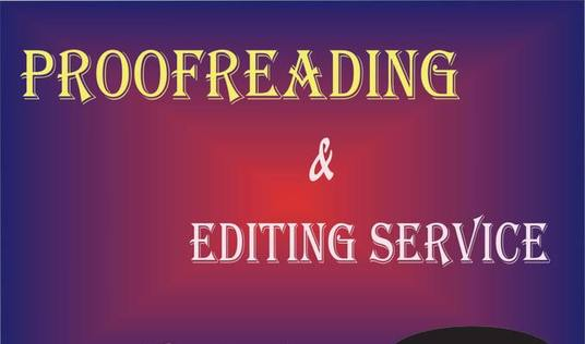 I will offer impeccable proofreading and editing service (up to 1000 words)