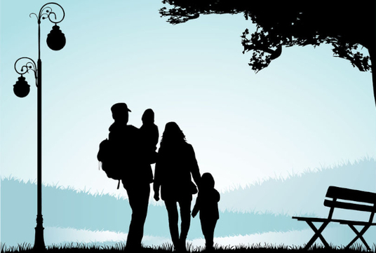 I will create a vector silhouette from your photo