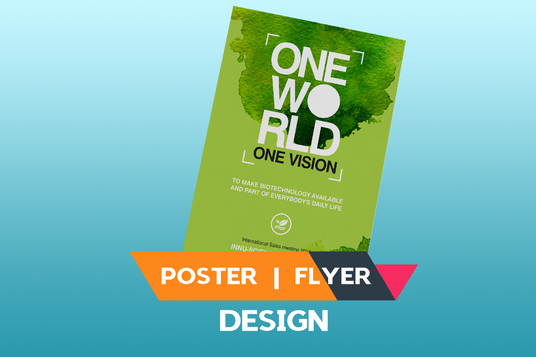 I will Design  professional Flyer And Poster