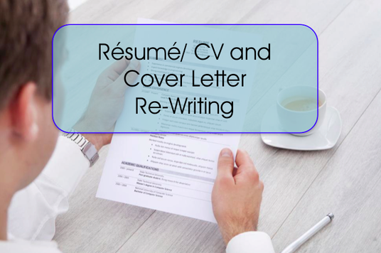 I will rewrite and redesign your CV and Cover Letter