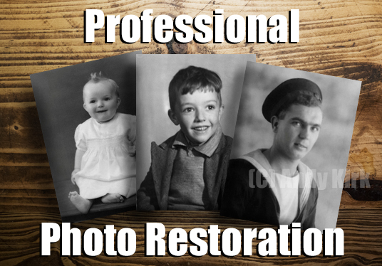 I will Professionally Restore your Treasured Photo in.jpg Format