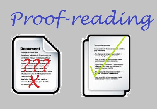 I will proofread, edit and comment on any word document upto 1000 words