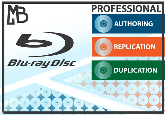 I will design and author an amazing professional retail blu ray disc for you