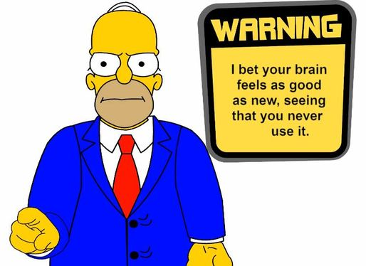 Animate and voice a greeting or personal message of your choice in the style of Homer Simpson.