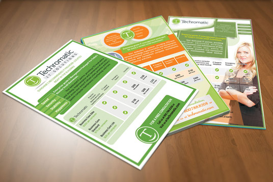 I will Design Clean Business, Corporate Flyer/Brochure