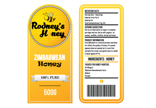 I will design innovative labels for your business