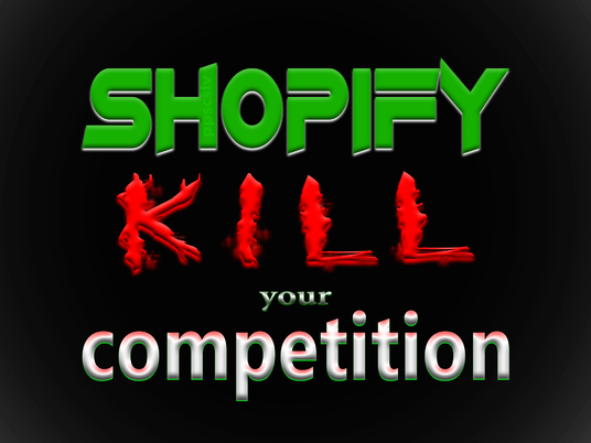 I will kill your competition with Shopify VIRAL promotion