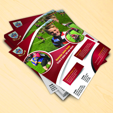 cccccc-design a professional Print ready flyer or leaflet