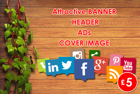 I will Design Attractive Facebook, Instagram, Youtube Banner Cover