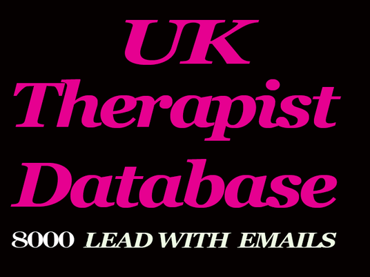 I will research about uk therapist and give you contact details