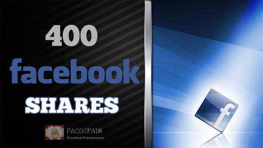 I will do 400 Facebook Shares for Post, Photo, Website, Blog or Video