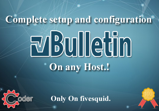 I will setup and customize vBulletin on your host