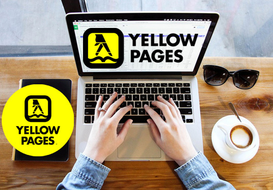 extract company data , website, phone, email etc from Yellow Pages